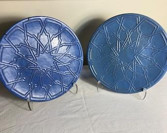 Catalina Moorish Plaques, One available, Catalina Blue