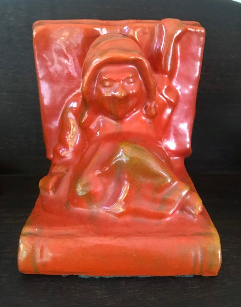 Catalina Monk Bookend Toyon Red image 0