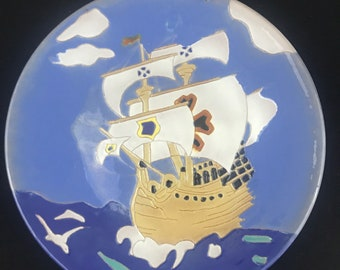 Catalina Spanish Galleon Plaque