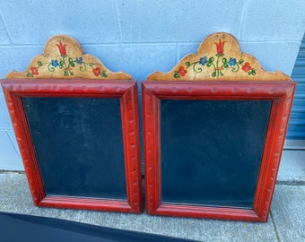 Monterey Mirrors, Early Red & Floral