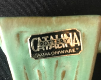 Catalina Deco Cream and Sugar, Descanso Green