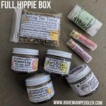 FULL HIPPIE seasonal subscription box | BOHO Botanicals Box | Spring Box | natural products subscription box | limited time