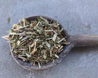 Peppermint Lemongrass Herbal Tea | herbal tea blends naturally caffeine free