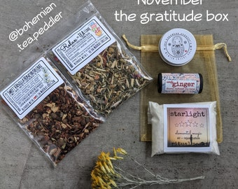 Self Care & Tea Lover's monthly Subscription Box - Tea Lovers Subscription Box - All Natural Beauty Box
