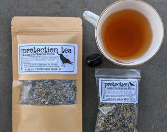 Protection Tea | Witches' Tea | Tea Magic and Herbal Potions