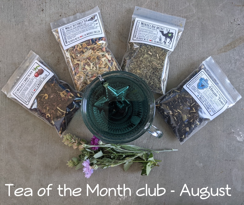 Tea of the Month Club  Tea Lover's Monthly Box  Monthly August start