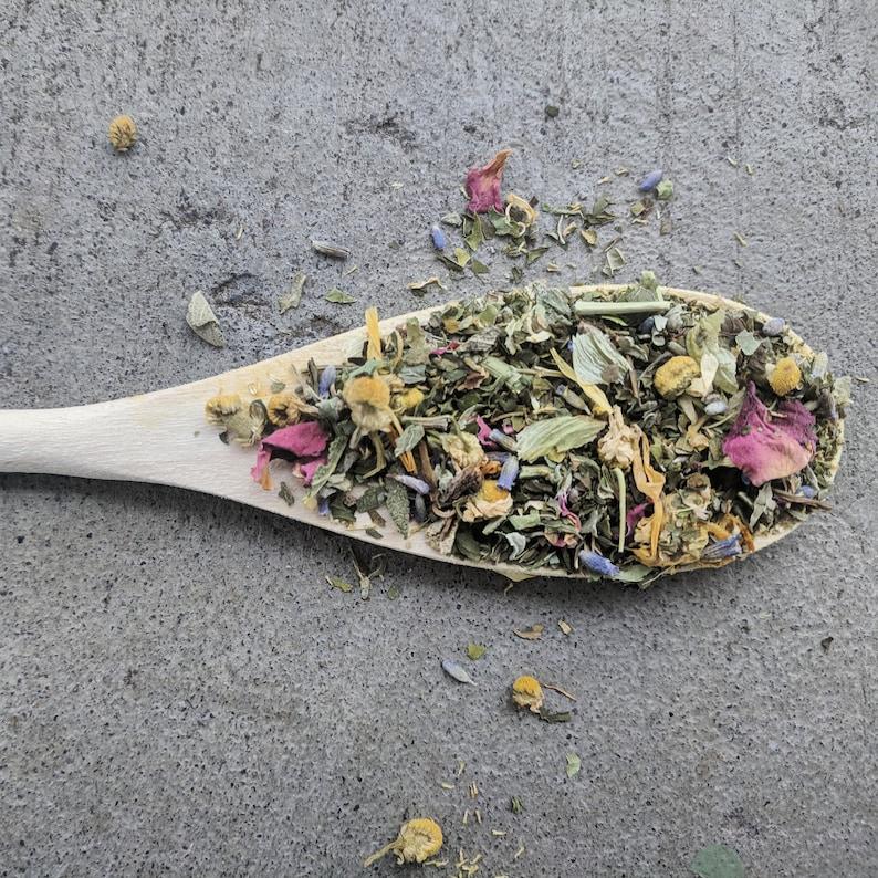 Blissful Sleep Tea    bulk organic herbal tea  sleepy time image 0