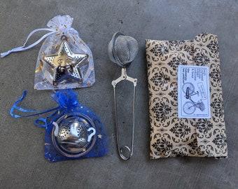 Tea balls and Tea Bags| Star shaped Tea Infuser | Tea Kettle | Tea Accessories