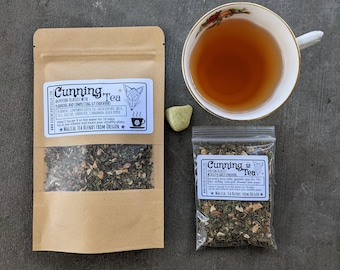 Cunning Tea | Witches' Tea  | Tea Magic and Herbal Potions