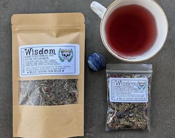 Wisdom Tea | Witches' Tea  | Tea Magic and Herbal Potions