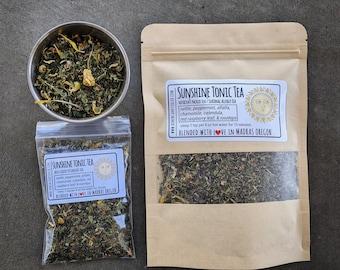 Sunshine Tonic Tea | Nettle Tea | Herbal Tea Blend | Allergy Tea | Nutrition Boosting Tea | naturally caffeine free