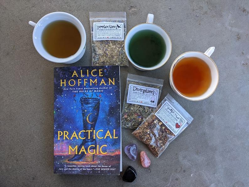 Witches' Tea Sampler  Magical Teas & Potions  heartache image 1