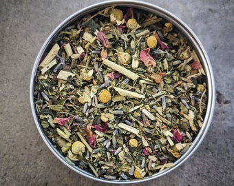 Calming Herbal Tea |  Anxiety and insomnia reducing herbal tisane | Relax! Its Tea Time