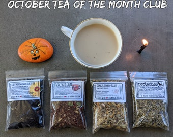 Tea of the Month Club | Tea Lover's Monthly Box | Monthly Flight of Teas | Tea Subscription