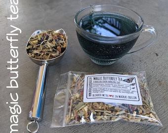 Butterfly Pea Flower Tea | Color changing tea | Blue Tea | floral herbal tea | loose leaf herbal tea