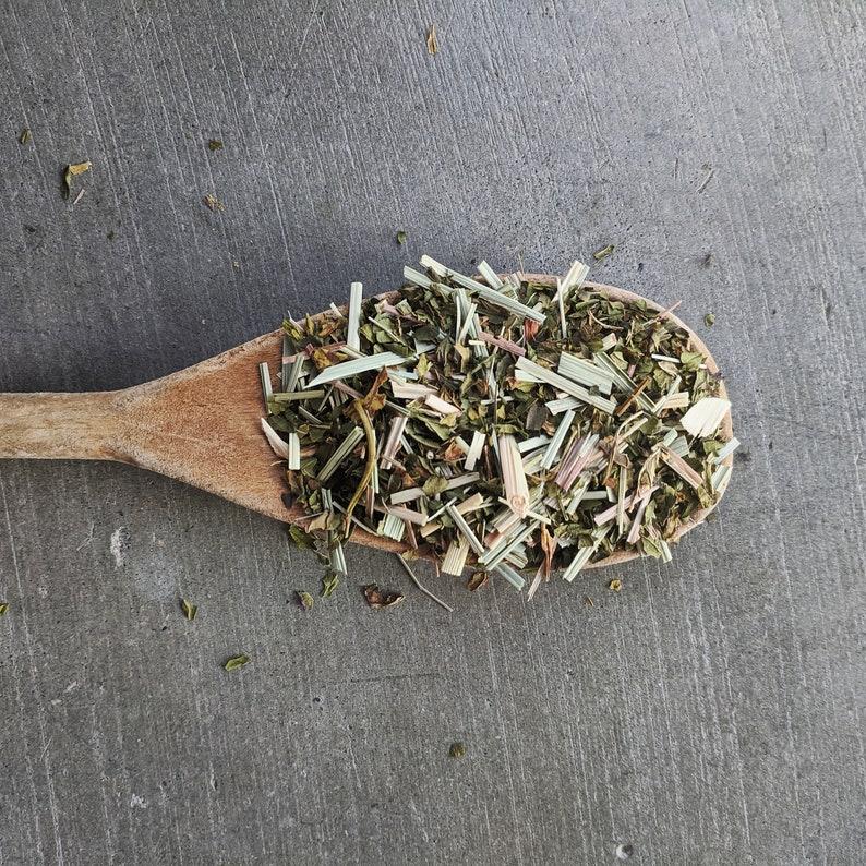 Peppermint Lemongrass Herbal Tea  organic herbal tea bleands image 0