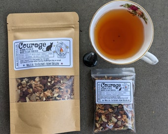 Courage Tea | Witches' Tea | Magical Tea and Herbal Potions