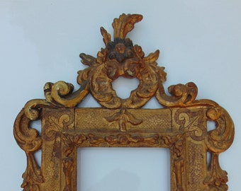 Italian Baroque Gilded Painting Frame