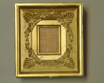 0f94cdd4bf5 19th Century French Empire Small Gilded Frame