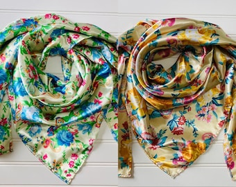 Floral Wild Rags
