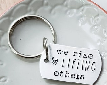 We Rise By Lifting Etsy