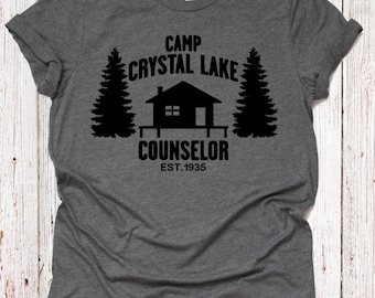 0e1de697d Camp Crystal Lake Councelor T-shirt|Jason voorhees| friday the 13th