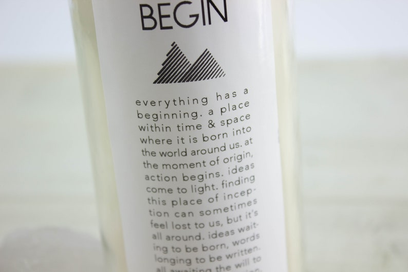 Begin Intention Candle-Ritual Candle-Meditation Candle | Etsy