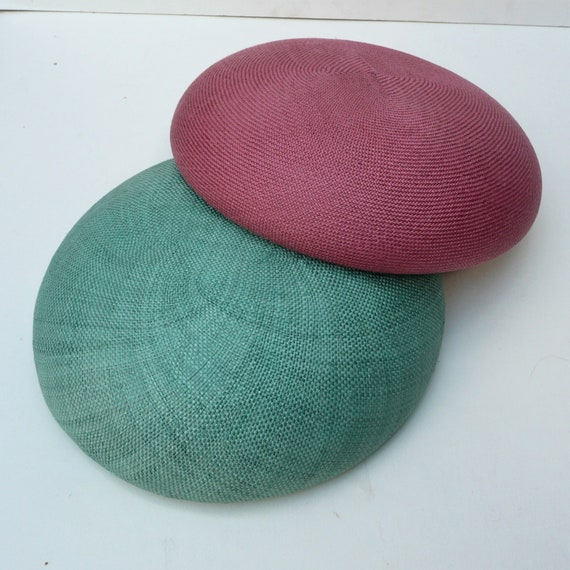 Groovy 18Cm Round Sisal Straw Button Millinery Fascinator Green Smartie Cerise Hat Base Handmade Beret Hat Making Vintage C1 Alphanode Cool Chair Designs And Ideas Alphanodeonline