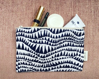 Shark Teeth Zipper Pouch