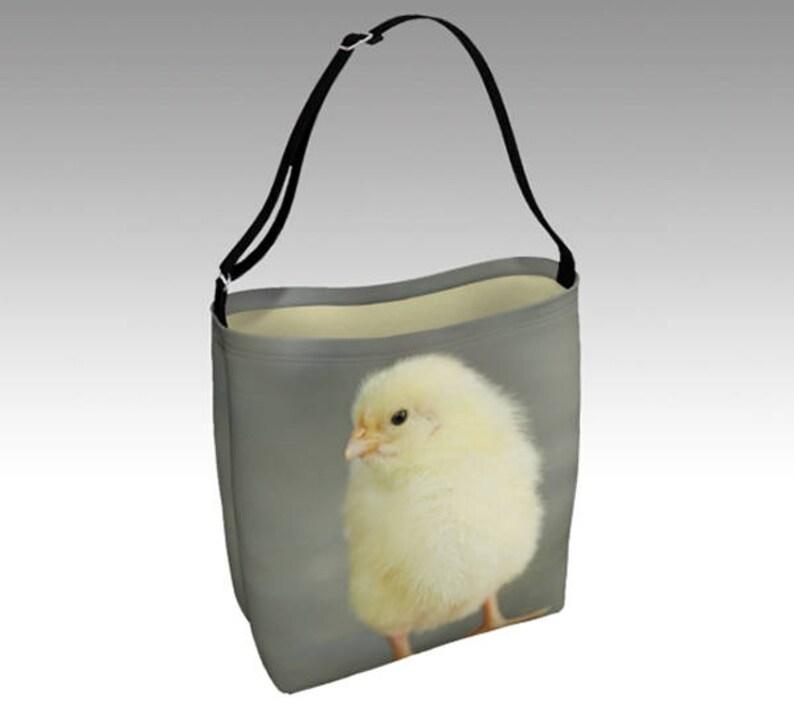 Neoprene baby chick tote Fluffball