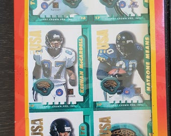 Jacksonville Jaguars Team Sticker Set 2f5904212