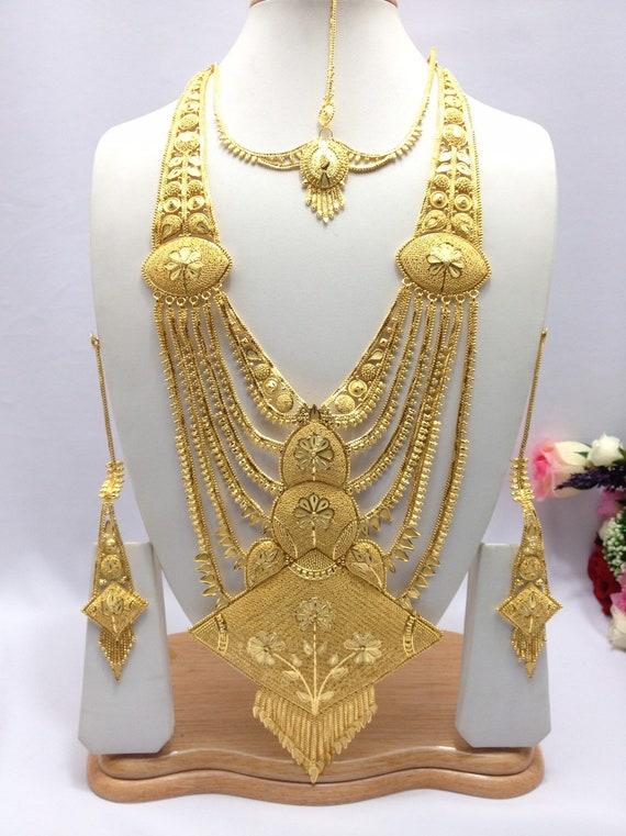 Handmade Indian Jewelry Asian Wedding Bridal Jewellery Party Etsy