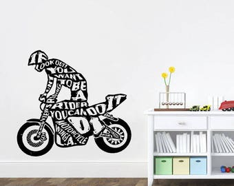 More colors. Wall Decal motorcycle decals motorbike decal harley wall decal harley davidson ...  sc 1 st  Etsy & Atv wall decals | Etsy
