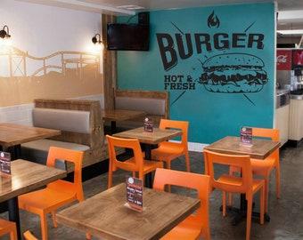 Vinyl Decal Pulp Fiction film quote Wall Sticker Tarantino Movie Hamburgers