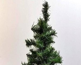 "22"" Faux Pine Christmas Tree Table Top Christmas Tree Mantle Christmas Tree Entryway Table Kid's Tree Office Desk Tree Kid's Craft"