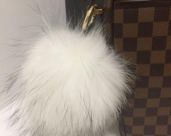 3cf4d4e8f533 Big fur purse charm