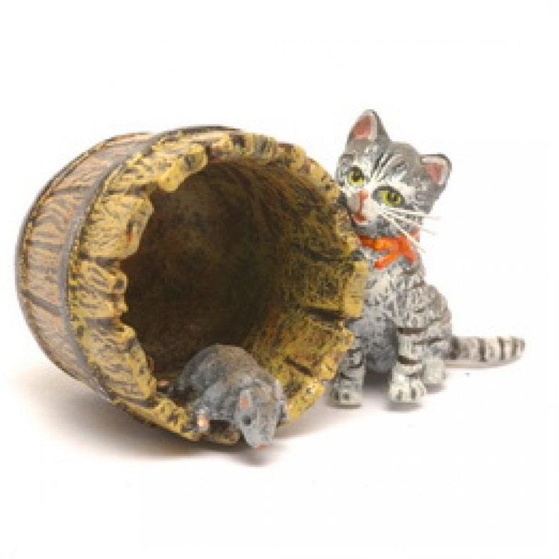 6b2ac42a33927c Gatto canna/ratto Fritz Bermann® Vienna bronzi poiché 1850 | Etsy