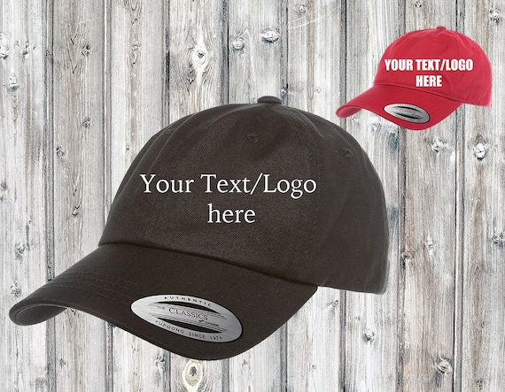 Custom Dad Hat Embroidered  Dad Cap  Hat For Him  Custom Dad Cap  Stitched Hat  Baseball Cap  Custom Image Green Camo Color