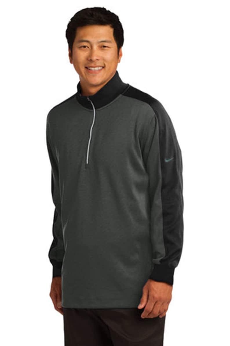 60eee127d2c70 Custom Nike Dri-FIT 1/2-Zip Cover-Up/ Custom Sweatshirt/ Personalized Nike/  Monogrammed Sweatshirt/ Customized Nike Gear/ Custom Golf Gear