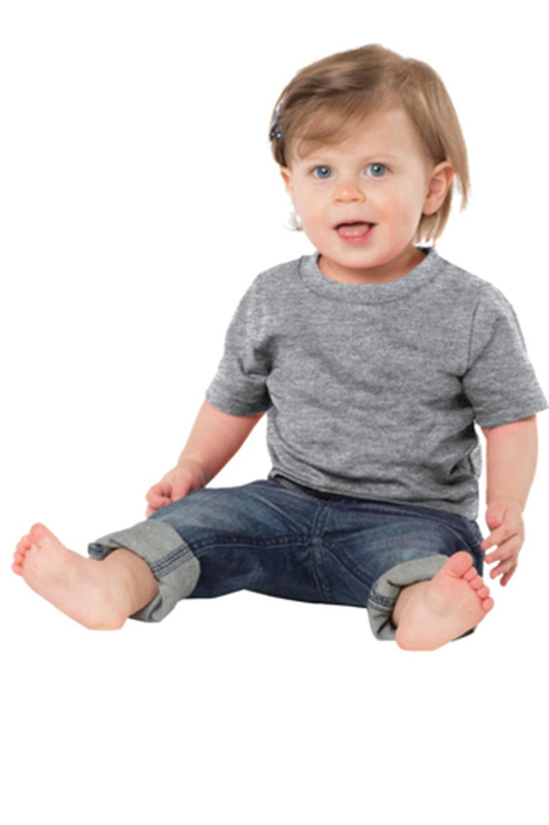 Custom Port /& Company Infant Core Cotton Tee Add Your Logo or Text
