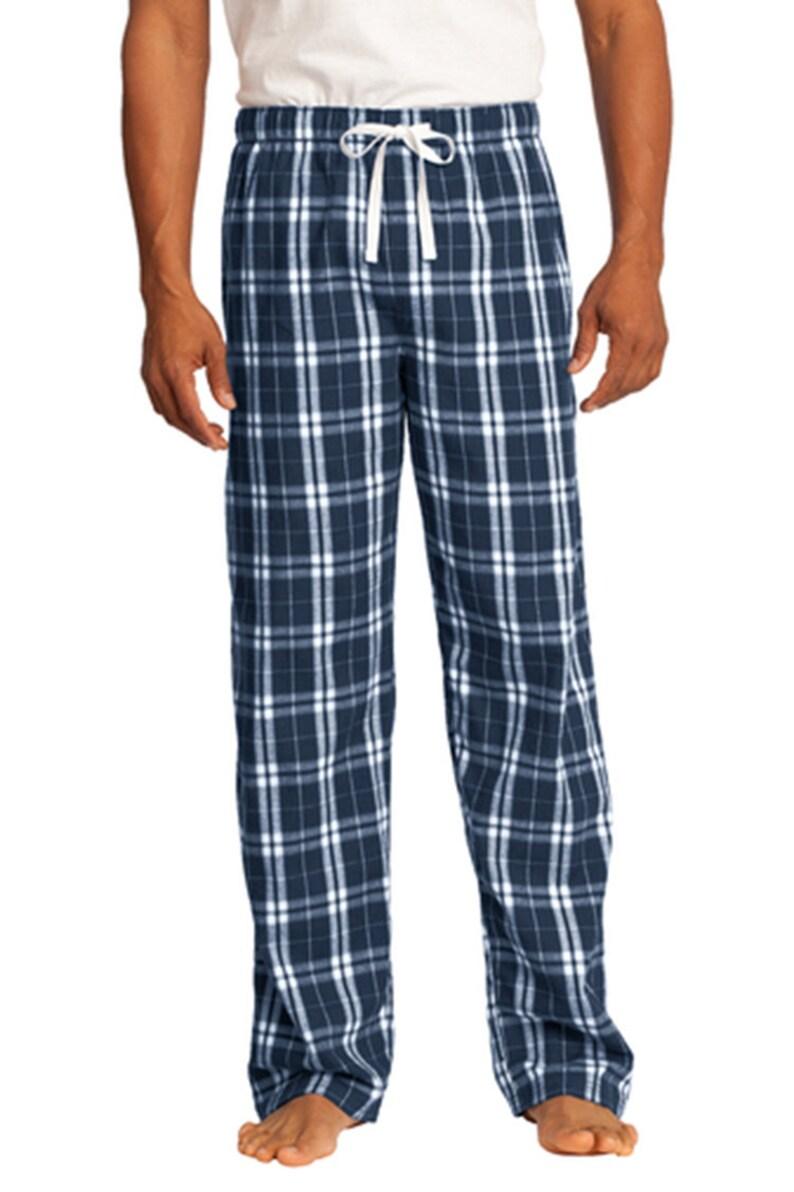 63364894 Custom Men Embroidered/ Printed Mens Flannel Plaid Pants/ | Etsy