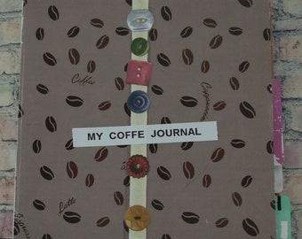 My Coffee Journal Notebook Memory Keeper Smash Book