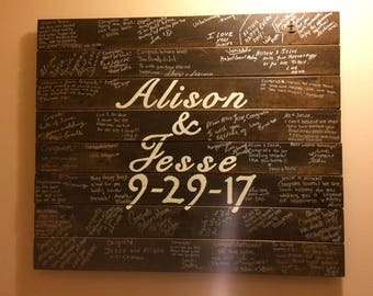 Guest Wedding Board - A unique way to memorialize your special day!