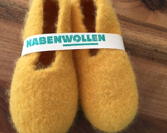 Felt slippers size 25-47 in all colours