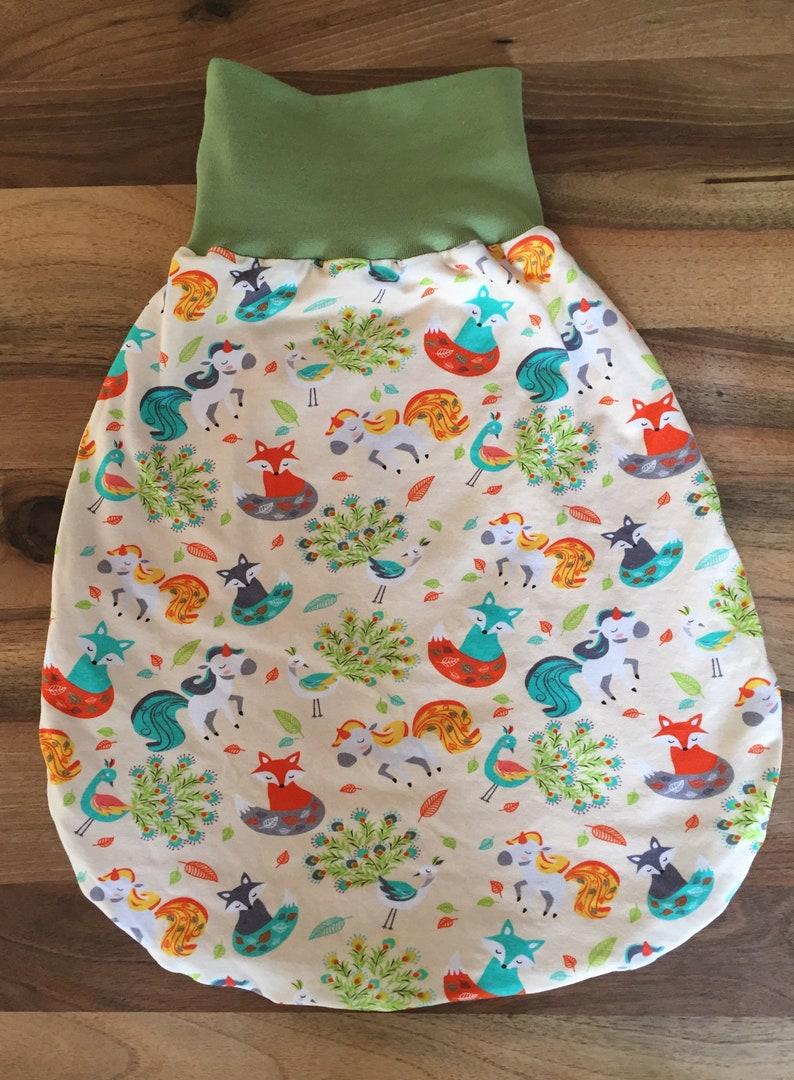 sleeping bag gr 56-68 Pucksack romper Sack