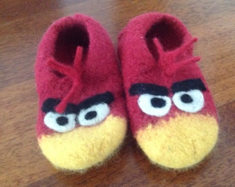 Angry Birds Slippers Size 33