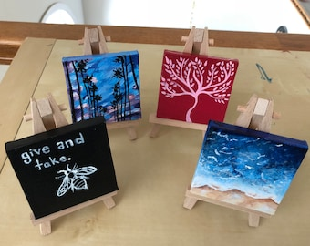 Small Canvas Art Etsy