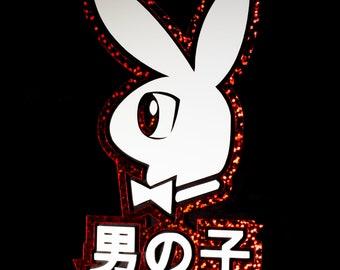 Playboy Bunny Decals Etsy
