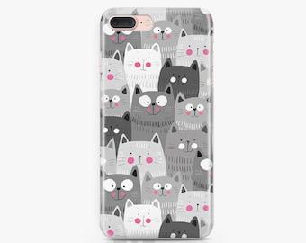Cats iPhone 8 Plus Case Samsung Galaxy S7 Case iPhone X Case Samsung Galaxy S8 Case iPhone 8 Case iPhone 7 Plus Case iPhone 6s Case AC1082