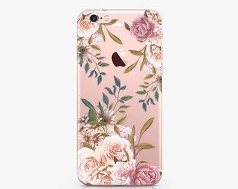Floral iPhone Case iPhone 7 Case iPhone X Case Flowers Case Samsung S9 Plus Case iPhone 8 Plus Case Samsung Galaxy S9 Plus Case Gift AC1032